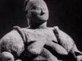 THE BIRTH GODDESS OF CATAL HUYUK, Asia Minor, 7th Millennium B.C.E.