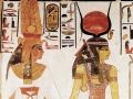 ISIS LEADING QUEEN NOFRETARI, Africa, C. 1300 B.C.E.